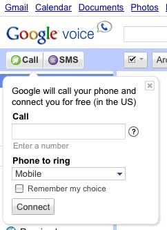 how to call from google voice